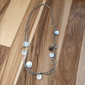 Aldo Silver Chain Necklace
